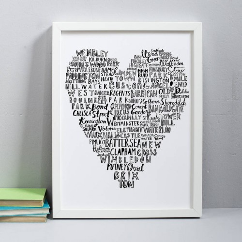 original my heart belongs to london 30x40 cm print 2 1024x1024
