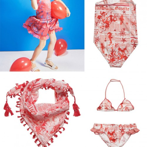 galliano gazette swimwear